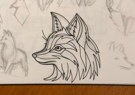 Fox Thin line